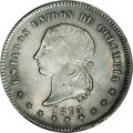 Colombia: , Colombia: Republic 50 Centavos 1873 Bogota, KM172.1, MS64 NGC, anincredible example with virtually flawless surfaces, light graypati...