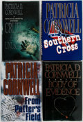 Books:Mystery & Detective Fiction, Patricia D. Cornwell. Group of Four First Editions. Various publishers and dates. Publisher's cloth and original dust jacket... (Total: 4 Items)