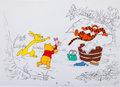 Animation Art:Production Drawing, Winnie the Pooh and Friends Book Illustration Animation Art Group(Walt Disney, c. 1990s).... (Total: 6 Items)
