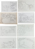 Animation Art:Production Drawing, Winnie the Pooh and Friends Book Illustration Animation Art Group(Walt Disney, c. 1990s).... (Total: 23 Original Art)