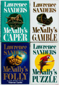 Books:Mystery & Detective Fiction, Lawrence Sanders. Group of Four First Editions in the Archy McNallySeries. New York: Putnam's, [various dates]. Publisher's... (Total:4 Items)