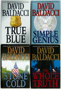 Books:Mystery & Detective Fiction, David Baldacci. Group of Four First Editions. New York: GrandCentral Publishing, [various dates]. Publisher's cloth and ori...(Total: 4 Items)