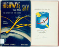 Books:Americana & American History, Louis Shores. SIGNED. Highways in the Sky. The Story of theAACS. New York: Barnes and Noble, 1947. First edition, f...