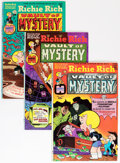 Bronze Age (1970-1979):Cartoon Character, Richie Rich Vault of Mystery Group (Harvey, 1975-82) Condition:Average VF/NM.... (Total: 79 Comic Books)