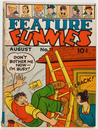 Feature Funnies #11 (Chesler, 1938) Condition: VG-