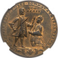 Betts Medals, 1741 Admiral Vernon Cartagena Medal MS63 NGC. Betts-329,Adams-Chao-CAvl-2-D, R.6....
