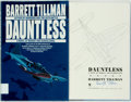 Books:Americana & American History, Barrett Tillman. SIGNED. Dauntless. A Novel of Midway andGuadalcanal. New York: Bantam Books, [1992]. First edition...