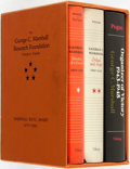 Books:Biography & Memoir, Forrest C. Pogue. INSCRIBED. George C. Marshall: Education of aGeneral 1880-1939, Ordeal and Hope, 1939-1942 [and:]... (Total:3 Items)