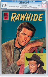 Four Color #1261 Rawhide - File Copy (Dell, 1961) CGC NM 9.4 Off-white pages