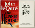 Books:Mystery & Detective Fiction, John le Carré. SIGNED. The Russia House. London: Hodder& Stoughton, 1989. First UK edition. Signed by the author....