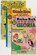 Bronze Age (1970-1979):Cartoon Character, Richie Rich and Gloria Group (Harvey, 1977-82) Condition: AverageNM-.... (Total: 67 Comic Books)