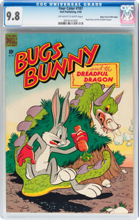 Four Color #187 Bugs Bunny - Mile High pedigree (Dell, 1948) CGC NM/MT 9.8 Off-white to white pages