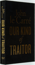 Books:Mystery & Detective Fiction, John le Carré. SIGNED. Our Kind of Traitor. Viking, 2010.First edition, first printing. Signed by the author. P...