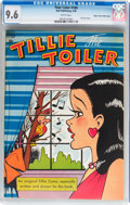 Golden Age (1938-1955):Humor, Four Color #184 Tillie the Toiler - Mile High pedigree (Dell, 1948) CGC NM+ 9.6 White pages....