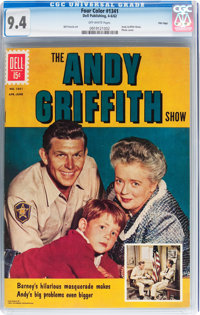 Four Color #1341 The Andy Griffith Show - File Copy (Dell, 1962) CGC NM 9.4 Off-white pages