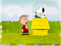 Animation Art:Production Cel, The Charlie Brown and Snoopy Show Linus and SnoopyProduction Cel Setup (Bill Melendez, 1982)....