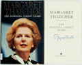 Books:Biography & Memoir, Margaret Thatcher. SIGNED. The Downing Street Years. NewYork: Harper Collins, [1993]. First American edition. Sig...