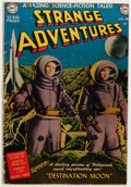 Golden Age (1938-1955):Science Fiction, Strange Adventures #1 (DC, 1950) Condition: GD....