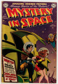 Golden Age (1938-1955):Science Fiction, Mystery in Space #2 (DC, 1951) Condition: GD/VG....