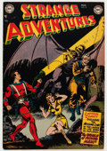 Golden Age (1938-1955):Science Fiction, Strange Adventures #18 (DC, 1952) Condition: FN/VF....