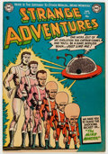 Golden Age (1938-1955):Science Fiction, Strange Adventures #40 (DC, 1954) Condition: FN/VF....