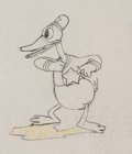 Animation Art:Production Drawing, The Dognappers Donald Duck Production Drawing Animation Art(Walt Disney, 1934)....