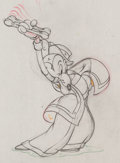 Animation Art:Production Drawing, Mickey's Rival Mortimer Mouse Production Drawing AnimationArt (Walt Disney, 1936)....