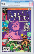 Modern Age (1980-Present):Science Fiction, Star Wars #49 (Marvel, 1981) CGC NM/MT 9.8 White pages....