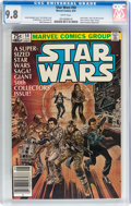 Modern Age (1980-Present):Science Fiction, Star Wars #50 (Marvel, 1981) CGC NM/MT 9.8 White pages....