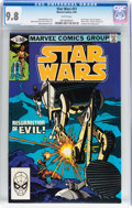 Modern Age (1980-Present):Science Fiction, Star Wars #51 (Marvel, 1981) CGC NM/MT 9.8 White pages....