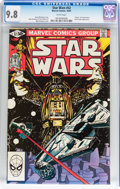 Modern Age (1980-Present):Science Fiction, Star Wars #52 (Marvel, 1981) CGC NM/MT 9.8 White pages....
