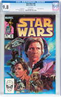 Modern Age (1980-Present):Science Fiction, Star Wars #81 (Marvel, 1984) CGC NM/MT 9.8 White pages....