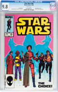Modern Age (1980-Present):Science Fiction, Star Wars #90 (Marvel, 1984) CGC NM/MT 9.8 White pages....