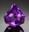Gems:Faceted, FINE GEMSTONE: AMETHYST - 28.17 CT.. Uruguay. ...