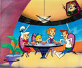 Animation Art:Production Cel, The Jetsons Production Cel (Hanna-Barbera, 1980s)....