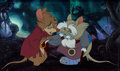 Animation Art:Production Cel, The Secret of NIMH Mrs. Brisby and Mr. Ages Production Cel(Don Bluth Productions, 1982)....