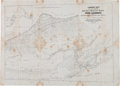 Western Expansion:Goldrush, California Gold Rush Map Published in 1849. ...
