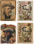 Miscellaneous:Ephemera, Buffalo Bill's Wild West: Collection of Four Programmes. ...(Total: 4 Items)