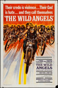 "Movie Posters:Exploitation, The Wild Angels (American International, 1966). One Sheet (27"" X 41""). Exploitation.. ..."