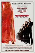 "Movie Posters:James Bond, Octopussy (MGM/UA, 1983). One Sheet (27"" X 41"") Style A Advance.James Bond.. ..."