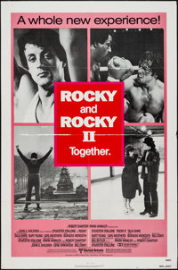 """Rocky/Rocky II Combo & Other Lot (United Artists, 1980). One Sheets (2) (27"""" X 41""""). Sports. ... (Total: 2..."""