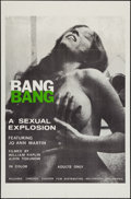 "Movie Posters:Sexploitation, Bang Bang & Other Lot (Canyon Dist. Co., 1970). One Sheets (2)(27"" X 41""). Sexploitation.. ... (Total: 2 Items)"