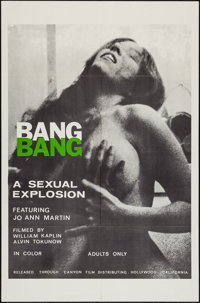 "Bang Bang & Other Lot (Canyon Dist. Co., 1970). One Sheets (2) (27"" X 41""). Sexploitation. ... (Total: 2 I..."