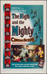 "The High and the Mighty (Warner Brothers, 1954). One Sheet (27"" X 41""). Adventure"