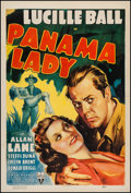 "Movie Posters:Drama, Panama Lady (RKO, 1939). One Sheet (27.25"" X 40.5""). Drama.. ..."