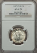 Standing Liberty Quarters: , 1917 25C Type One MS62 Full Head NGC. NGC Census: (572/3116). PCGS Population (496/4420). Mintage: 8,740,000. Numismedia Ws...
