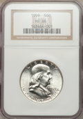 Franklin Half Dollars: , 1959 50C MS66 NGC. NGC Census: (43/5). PCGS Population (26/2).Mintage: 6,200,000. Numismedia Wsl. Price for problem free N...
