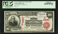 National Bank Notes:Pennsylvania, Coalport, PA - $10 1902 Red Seal Fr. 613 The First NB Ch. #(E)6887. ...