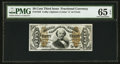 Fractional Currency:Third Issue, Fr. 1334 50¢ Third Issue Spinner PMG Gem Uncirculated 65 EPQ.. ...