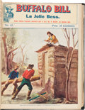 """Western Expansion:Cowboy, William F. """"Buffalo Bill"""" Cody: Bound Set of French PulpMagazines.... (Total: 7 Items)"""
